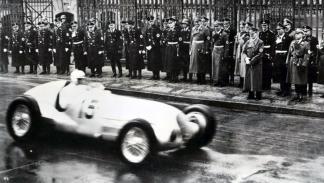 El III Reich sentía facinación por la velocidad y los coches de carreras
