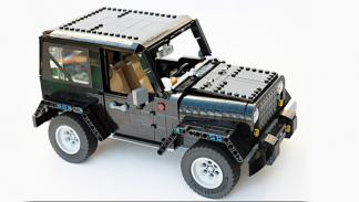 Jeep Wrangler Rubicon de LEGO