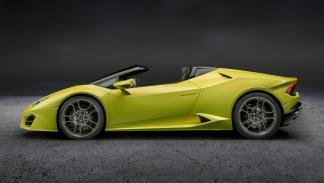Lamborghini Huracán LP580-2 Spyder tracción trasera descapotable cabrio deportivo superdeportivo Los Ángeles