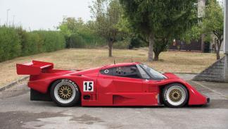Lancia Ferrari LC2 Duemila Ruote clasico competición deportivo