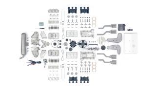 La mejor maqueta de un motor de Porsche 911