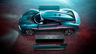 NextEV Nio EP9 - Tiene un megavatio de potencia