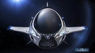 SKYJET, la nave espacial de Lexus