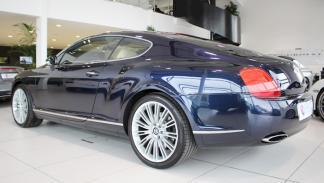 A subasta el Bentley Continental GT Speed de Cristiano Ronaldo