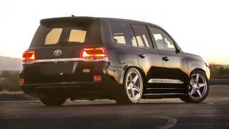Toyota Land Speed Cruiser SEMA Show preparaciones preparacion tuning 2.000 CV