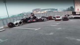 La verdadera razón de que un kart lleve frenos...