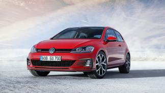Volkswagen Golf GTI 2017 (frontal)