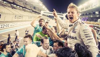 2016 en nueve cifras - 5 - Los días que tardó Rosberg en retirarse tras ser Campeón del Mundo