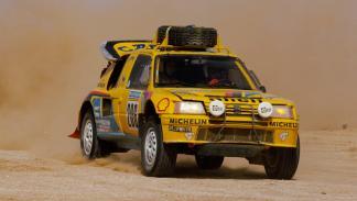 Dakar 2017: Peugeot 205 Turbo 16 vs Peugeot 3008 DKR (III)