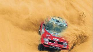 El Dakar siempre nos regala imágenes muy espectaculares