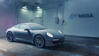 Porsche 911 congelado (II)