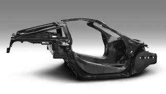 Así es el nuevo chasis de fibra de carbono de McLaren