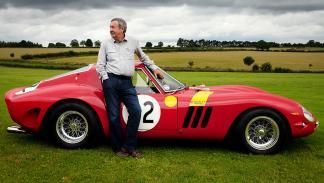 El Ferrari GTO 250 de Mason, el coche más caro de la colección del músico inglés