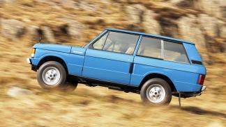 La historia del Range Rover - Primera generación - 1970