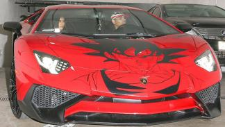 El Lamborghini Goku de Chris Brown