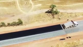 El vídeo de la construcción de una carretera más visto de la Historia