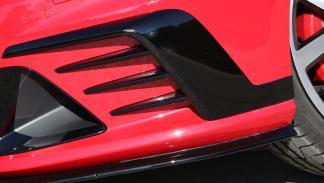 Volkswagen Golf GTI Clubsport detalle paragolpes