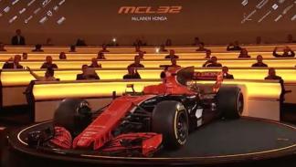 ¡Aquí está el MCL32!