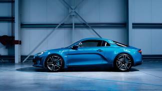 Alpine A110 2017 deportivo azul ligero ginebra