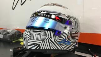 Nuevo casco Fernando Alonso 2017