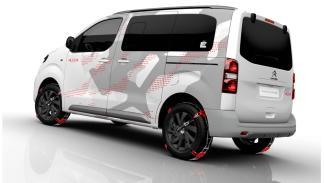 Citroën Spacetourer Ë concept tres cuartos