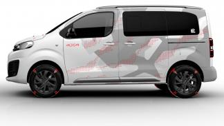 Citroën Spacetourer Ë concept lateral