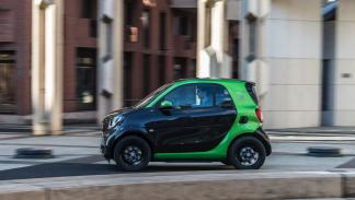 Smart fortwo electric drive 2017 dinámica
