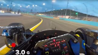 IndyCar Series Graham Rahal Onboard