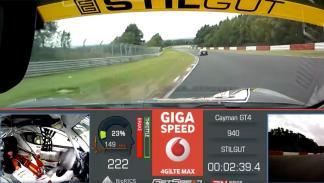 Salvada Porsche Cayman GT4 Clubsport