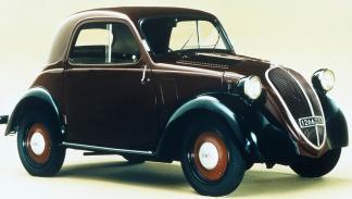 ¿Y si los coches italianos tuvieran nombres en español? - Fiat Topolino