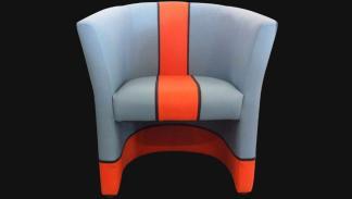 Una silla inspirada en el Porsche 917K