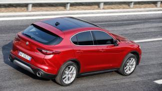 Prueba Alfa Romeo Stelvio cenital