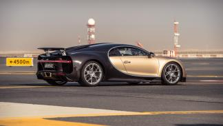 Chris Harris con el Bugatti Chiron (III)