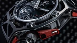 Cronógrafo Tourbillon Techframe Ferrari 70 Aniversario (III)