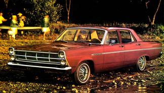 La historia del Ford Gran Torino - Que a su vez provenía del Fairlane