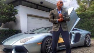 Lamborghini Aventador y Dwayne Johnson, una pareja rápida y furiosa