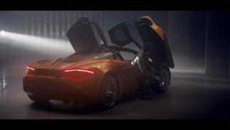 McLaren 720s vídeo