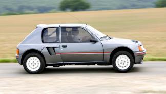 Mejores coches homologados: Peugeot 205 T16
