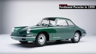 Mejores prototipos Porsche 754 Concept primer 911