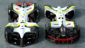 Roborace, el coche de carreras autónomo