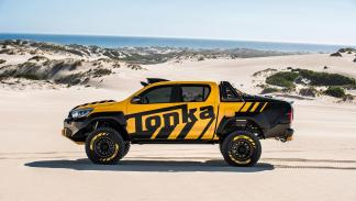 Toyota Hilux Tonka Concept prototipo off-road pick-up