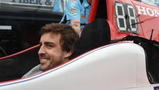 Alonso, primera toma de contacto con un IndyCar