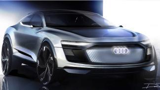 Audi e-Tron Sportback Crossover Concept (I)