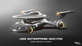 Coches de las naves de Star Trek: USS Enterprise NCC-1701