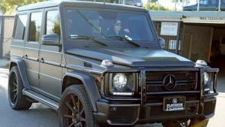 Kim Kardashian al volante de un Mercedes-Benz G 63