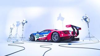 Pit Stop Ford GT del WEC mundial resistencia equipo