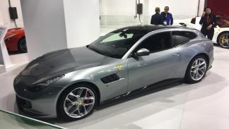 Coches más espectaculares Salón de Barcelona: Ferrari GTC4Lusso T