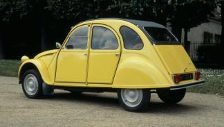 Coches con motor bóxer: Citroën 2CV (II)