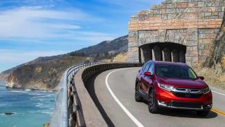 Honda CR-V en movimiento