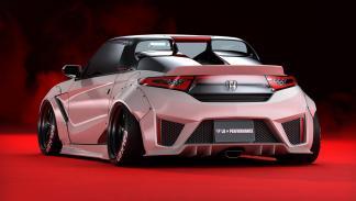 Honda S660 Liberty Walk deportivo preparacion